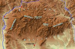 mátra domborzati térkép Mátra – Wikipédia mátra domborzati térkép