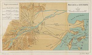 Map of Massaua (1887)