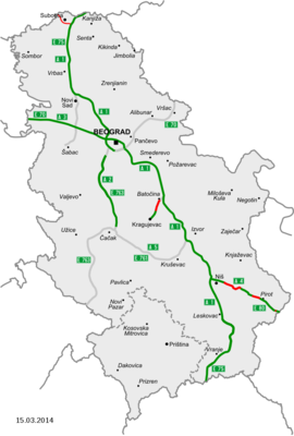 Map of motorways in Serbia.png