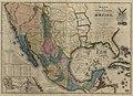 Mapa de los Estados Unidos de Méjico, California etc. - segun lo organizado y definido por las varias actas del congreso de dicha Républica y construido por las mejores autoridades. LOC 2012593364.jpg