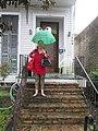 Maple Street New Orleans - Ms Hollie's Frog Umbrella.jpg