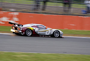 Marc VDS Racing Team - A Ford GT1 entered by Marc VDS in the FIA GT1 World Championship