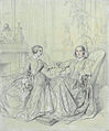 Marie d'Agoult, and her daughter Claire d'Agoult, by Jean-Auguste-Dominique Ingres.jpg