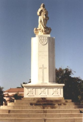 Dili - Maria da Fátima column