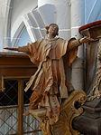 Marienstiftskirche Lich Kanzel Leo der Große 02.JPG
