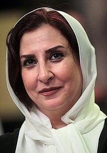 Marjaneh Golchin, Shahgoosh TV series press conference (13920501221624700).jpg