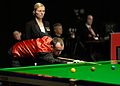 Mark Williams and Maike Kesseler at Snooker German Masters (DerHexer) 2015-02-05 01.jpg