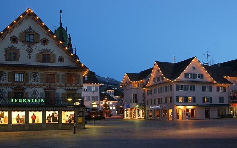 File Marktplatz Dornbirn Jpg Wikimedia Commons