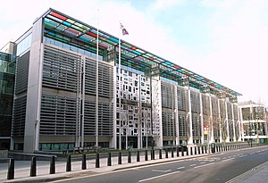 Farrells - Home Office building, London (2005)