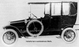 Astra Automobile & Waggon Factory - Image: Martatax