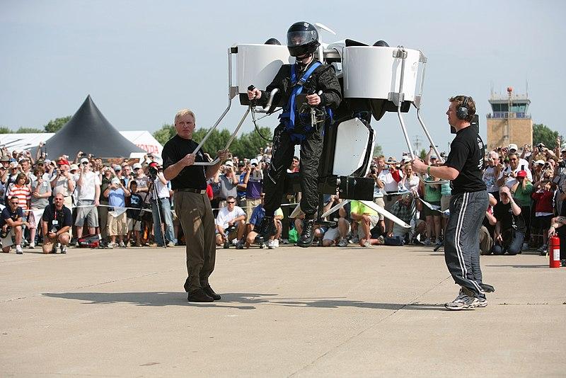File:Martin Jetpack Unveiling, Liftoff! (2714934801).jpg