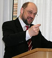 Martin Schulz, the current leader of PES' parliamentary party