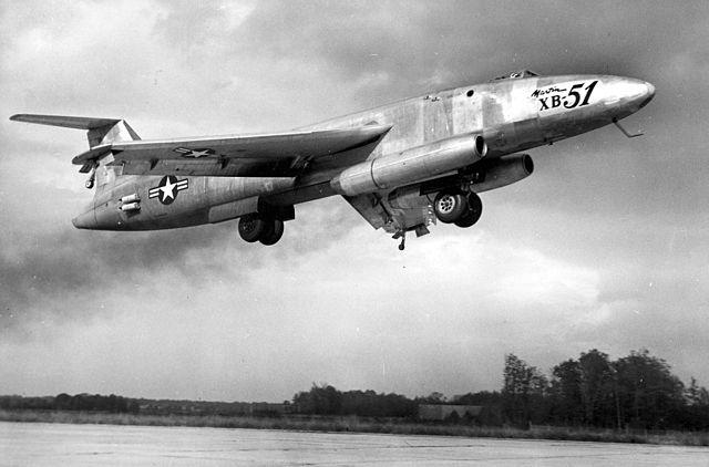 Pas-à-pas : Gotha P.60 D-1 [AZmodel 1/72] - Page 2 640px-Martin_XB-51_landing_configuration_061026-F-1234S-008