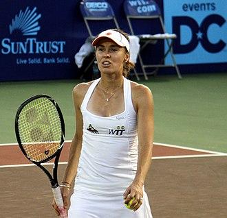 Martina Hingis - Martina Hingis with the New York Sportimes, 2011