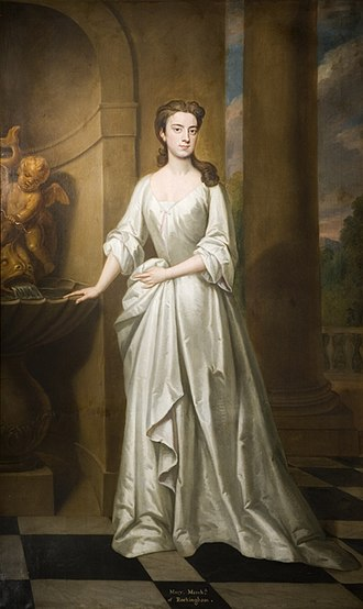 Charles Watson-Wentworth, 2nd Marquess of Rockingham - Charles Watson-Wentworth married Mary Bright (pictured) in 1752
