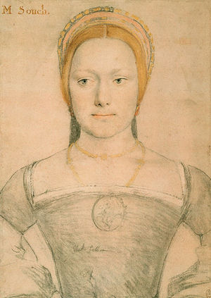 Anne Gainsford - Image: Mary Zouch by Hans Holbein the Younger