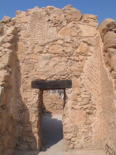 Masada - die byzantinische Kirche - vergrößerbar