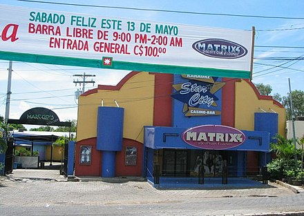 Matrix Bar y Discoteca (no longer in business) located near the Zona Rosa Matrixs.JPG