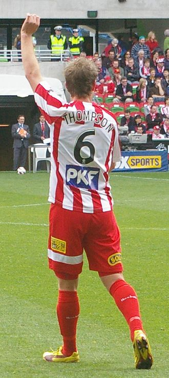Matt Thompson (footballer) - Thompson with Melbourne Heart