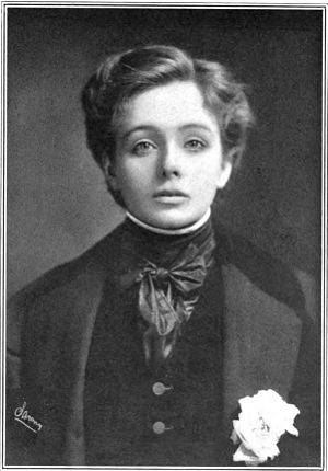 L'Aiglon - Maude Adams as Napoleon II