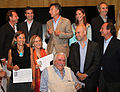 Mauricio Macri presentó los proyectos ganadores para la construcción del Distrito Cívico porteño (6875514531).jpg