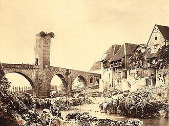 Farnham Maxwell-Lyte - Pont d'Orthez, Basses-Pyrenees, Maxwell-Lyte, c. 1858