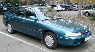 Ɛ̃fini - Image: Mazda 626 front 20071102