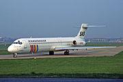 McDonnell Douglas MD-87 (DC-9-87), OY-KHF, SAS Scandinavian Airlines