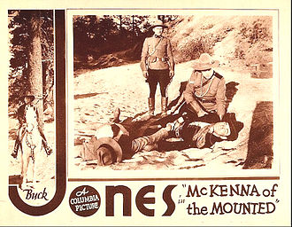 McKenna of the Mounted - Lobby card