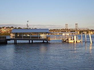 Parramatta River ferry services - Image: Meadowbank wharf