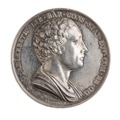 Medalj, Svenska Akademien, 1818 - Skoklosters slott - 110792.tif