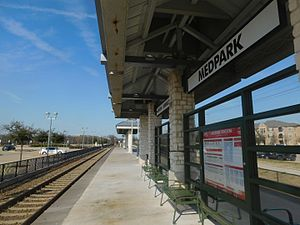 Medpark station - The Medpark station in February 2017.