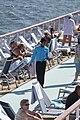 Mein Schiff an Deck Seetag eins Ostsee 2009 011.JPG