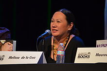 Melissa de la Cruz at LA Time Festival of Books 2013.jpg