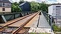 """Mellenbach Glasbach Gleis Bestandteil der Sachgesamtheit """"Eisenbahnstrecke Oberweißbacher Berg- und Schwarzatalbahn"""" 1.jpg"""