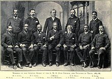 Members of the Official Board of the A.M.E. Zion Church, and Trustees in Trust, 1887-88.jpg