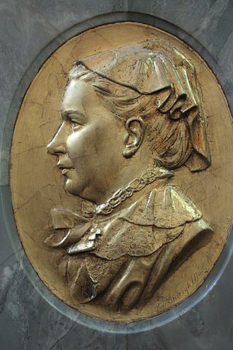 Margaret Oliphant - Memorial to Mrs Oliphant in St Giles Cathedral Edinburgh.