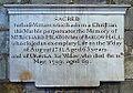 Memorial to Richard Heaton in Selby Abbey.JPG