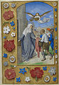 Memorial to St. Elizabeth of Thuringia - Hastings Hours (c.1480), f.64v - BL Add MS 54782.jpg