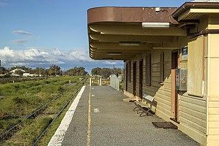 Menindee railway station