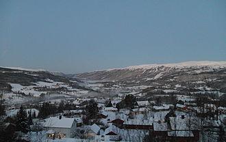 Meråker - View of the Meråker valley