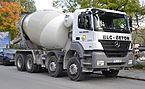 Mercedes-Benz Axor based cement mixer truck.JPG