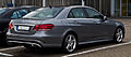 Mercedes-Benz E 250 Avantgarde Sport-Paket AMG (W 212, Facelift) – Heckansicht, 21. September 2013, Ratingen.jpg