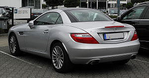 Mercedes-Benz SLK-Class - Mercedes-Benz SLK 200 BlueEFFICIENCY (Europe)