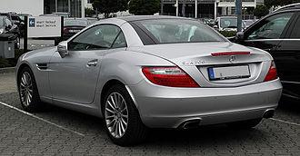 Mercedes-Benz SLK-Class - Mercedes-Benz SLK 200 BlueEFFICIENCY (Europe)