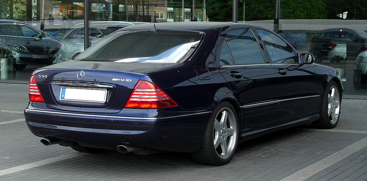 File Mercedes Benz S 55 Amg L V 220 Heckansicht 17
