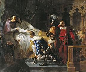 La Mort de Louis XII surnommé le Père du peuple