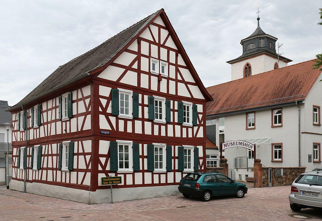 Fossilien- und Heimatmuseum Messel. Langgasse 2, Messel