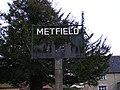 Metfield Village Sign - geograph.org.uk - 1096466.jpg