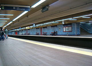 Colégio Militar/Luz (Lisbon Metro) metro station